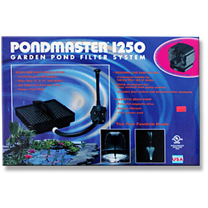 Supreme 2212 Pondmaster 1250 Filter & Pump Kit