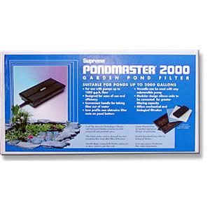 Pondmaster Supreme 2200 Pond Master 2000 Filter