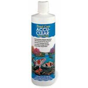 Aquarium Pharmaceuticals Pond Care Accu Clear 16 oz