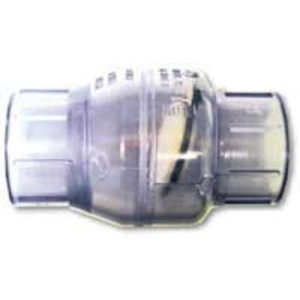 Valterra Clear PVC Swing check valves