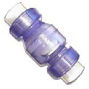 Valterra Clear PVC Swing Check Valve w/ true union