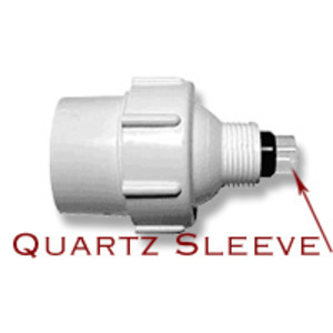 Aqua UV 8 Watt Unit Quartz Sleeve w/ Rubber Seal